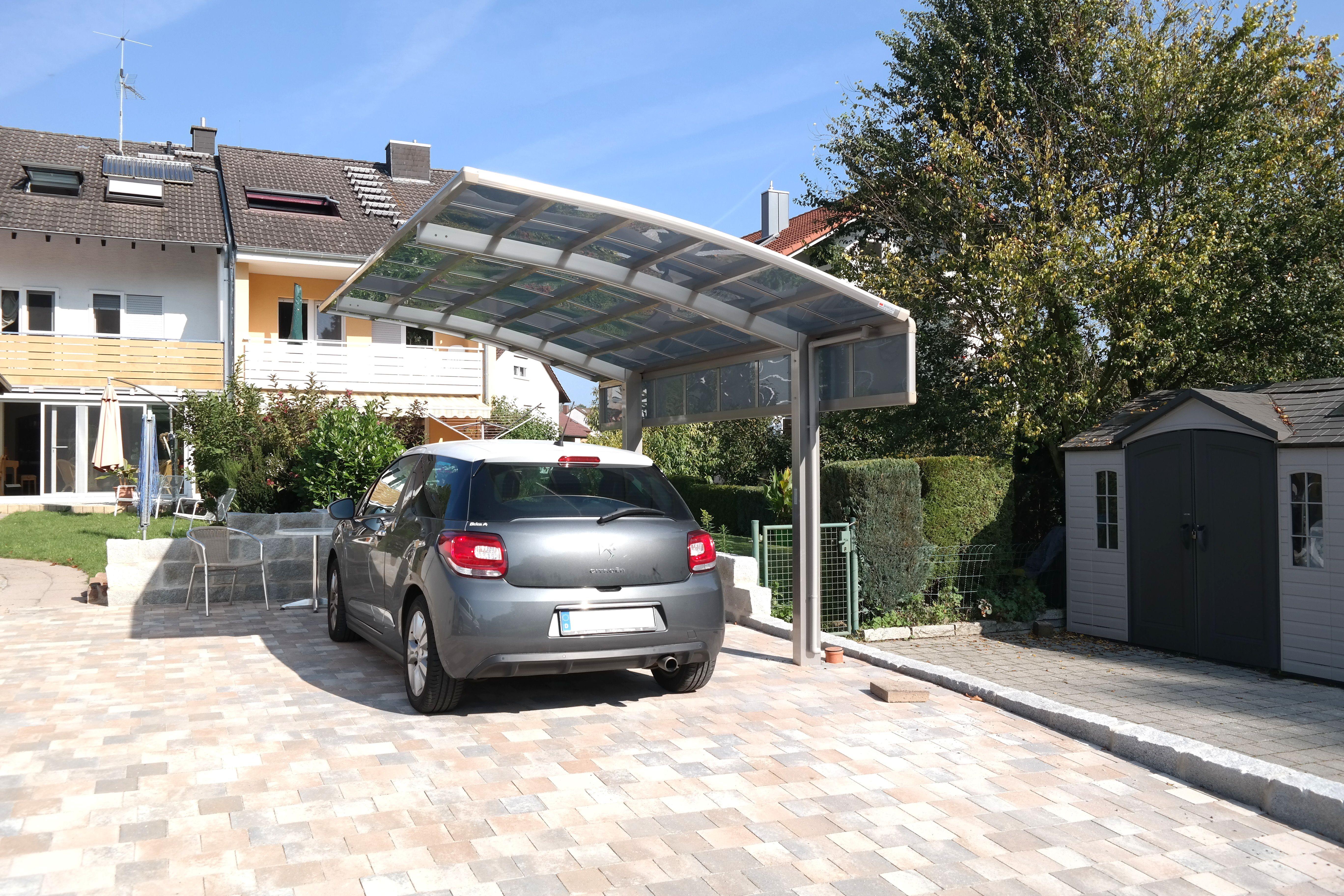 Fotos von carports aus aluminium - Carport foto ...