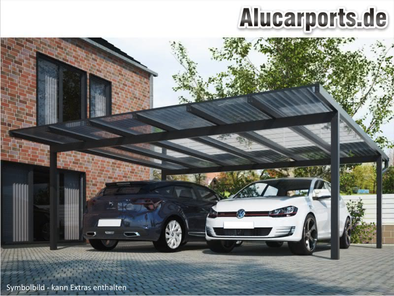 alucarports carports aus aluminium alu carport. Black Bedroom Furniture Sets. Home Design Ideas