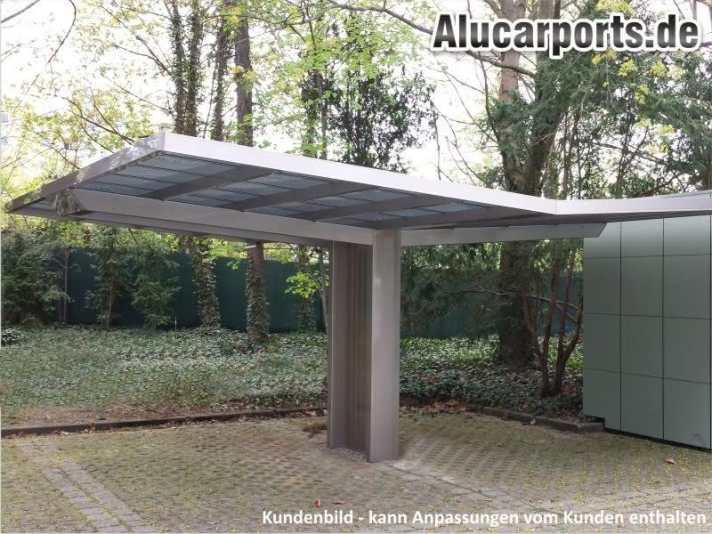 Alucarports carports aus aluminium alu carport