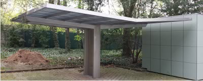 carports aus aluminium alucarports typ aluport. Black Bedroom Furniture Sets. Home Design Ideas