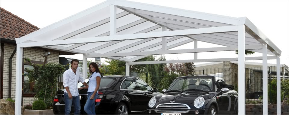 carports aus aluminium das gro e angebot an alucarports. Black Bedroom Furniture Sets. Home Design Ideas