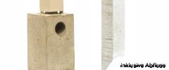 Einschubfundament für Alu-Terrassendach