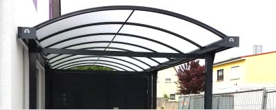 aluminium carport typ n einzel doppel wohnmobil. Black Bedroom Furniture Sets. Home Design Ideas