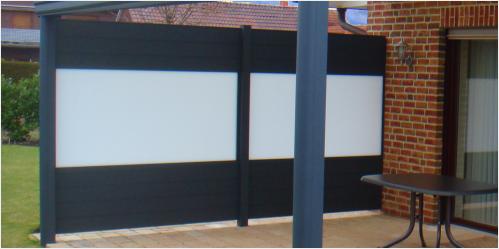 Aluminium Sichschutz-Wände Einzelteile