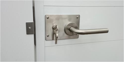 Aluminium Sichschutz-Wände Komplettsets