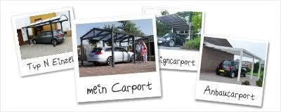 Referenzen und Fotos zu Carports aus Aluminium