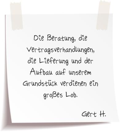 Gert. H. Referenz Alucarports