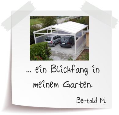 Bertold M. Referenz Alucarports