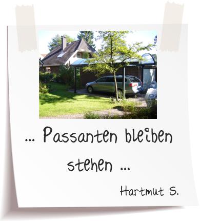 Hartmut S. Referenz Alucarports