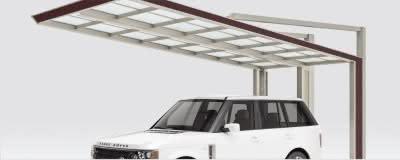 Aluport Next - das Carport mit freier Einfahrt